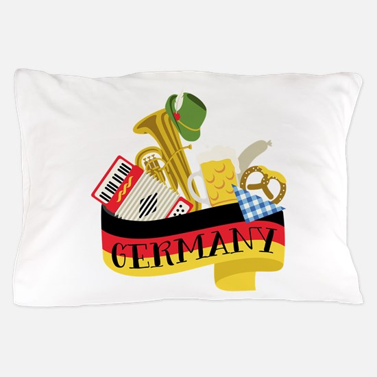 Germany Pillow Case