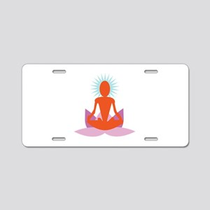 Yoga Aluminum License Plate