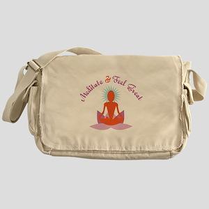 Meditate Messenger Bag