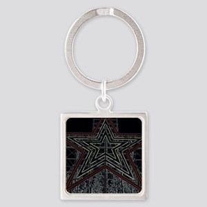 The Noke 2 Square Keychain