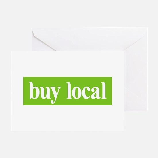 Buy Local Greeting Card
