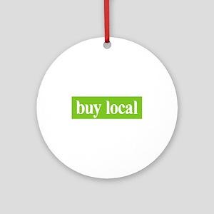 Buy Local Ornament (Round)