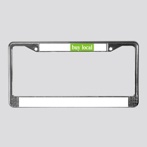Buy Local License Plate Frame