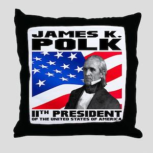 11 Polk Throw Pillow