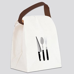 Utensils Canvas Lunch Bag