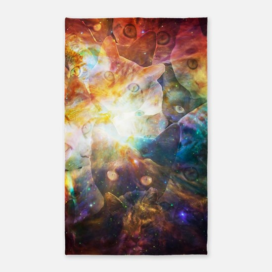 The Cat Galaxy Area Rug