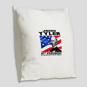 10 Tyler Burlap Throw Pillow