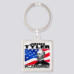 10 Tyler Square Keychain