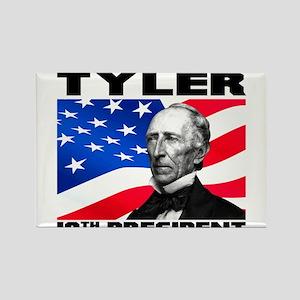 10 Tyler Rectangle Magnet