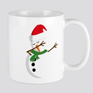 Dabbing Snowman 11 oz Ceramic Mug