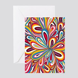 Flowers Bright Greeting Cards