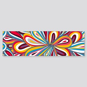 Flowers Bright Bumper Sticker