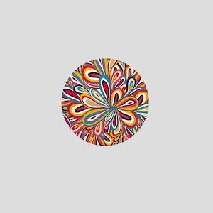 Flowers Bright Mini Button