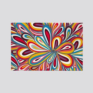 Flowers Bright Magnets