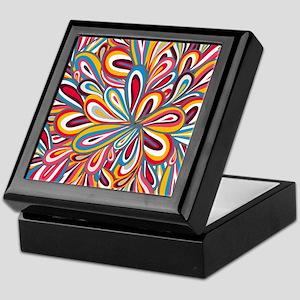 Flowers Bright Keepsake Box
