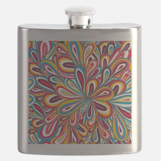 Flowers Bright Flask