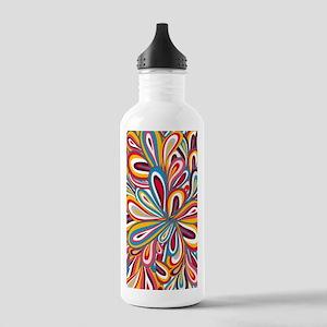 Flowers Bright Water Bottle