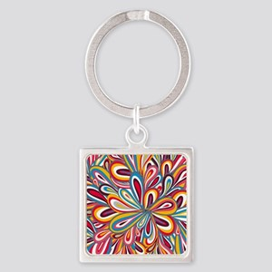 Flowers Bright Keychains