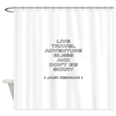 Kerouac Shower Curtain