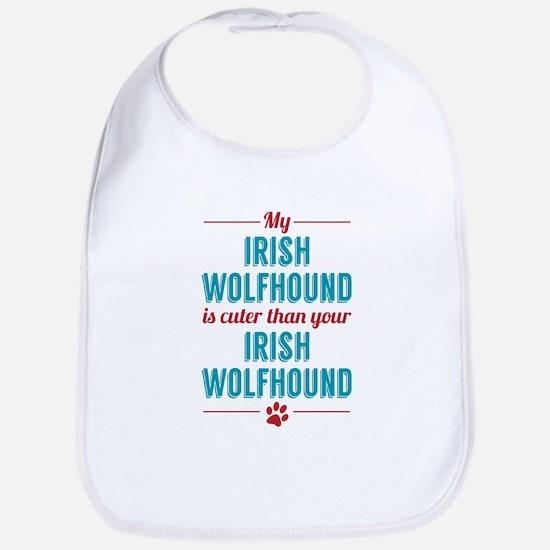 My Irish Wolfhound Bib