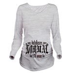 Normalcy Long Sleeve Maternity T-Shirt