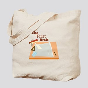 First Draft Tote Bag