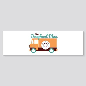 Doughnut Man Bumper Sticker