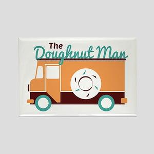 Doughnut Man Magnets