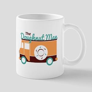 Doughnut Man Mugs