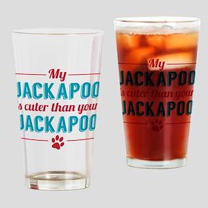 Cuter Jackapoo Drinking Glass