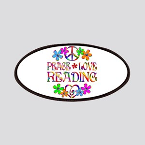 Peace Love Reading Patch