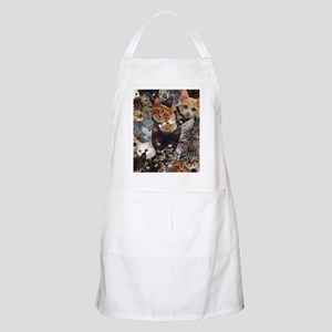 Kitty Collage Apron