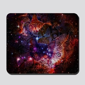 The Cat Galaxy Mousepad