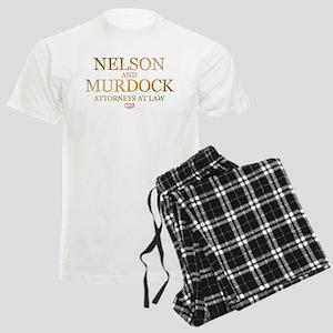 Daredevil Nelson and Murdock Men's Light Pajamas