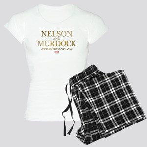 Daredevil Nelson and Murdoc Women's Light Pajamas