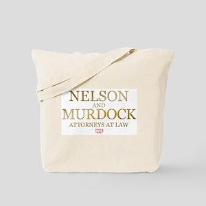 Daredevil Nelson and Murdock Tote Bag