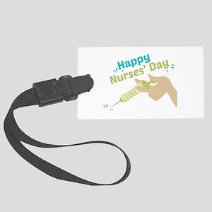 Happy Nurses Day Luggage Tag