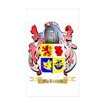 MacKintosh Sticker (Rectangle 50 pk)