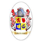 MacKintosh Sticker (Oval 10 pk)
