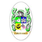 MacKinnon Sticker (Oval 50 pk)