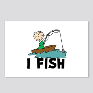I Fish Postcards (Package of 8)