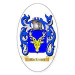 MacKinney Sticker (Oval 50 pk)