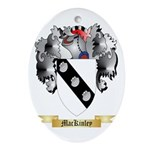 MacKinley Ornament (Oval)
