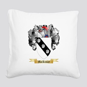 MacKinlay Square Canvas Pillow