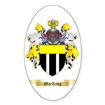 MacKing Sticker (Oval 50 pk)