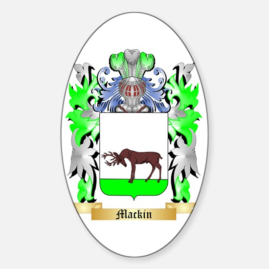 Mackin Sticker (Oval)