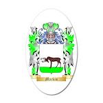 Mackin 35x21 Oval Wall Decal