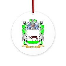 Mackin Ornament (Round)