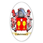 MacKilvain Sticker (Oval 10 pk)