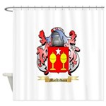 MacKilvain Shower Curtain